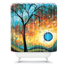 Madart Inc. Polyester Shower Curtain