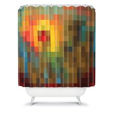 Madart Inc. Polyester Glorious Colors Shower Curtain