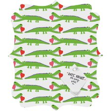 Andi Bird Alligator Love Quatrefoil Magnet Board