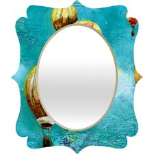 Land Of Lulu Herd of Balloons 2 Quatrefoil Mirror