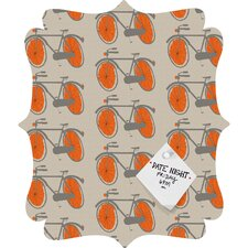 Mummysam Bicycles Quatrefoil Magnet Board