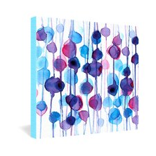 CMYKaren Abstract Watercolor Canvas Wall Art