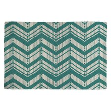 Heather Dutton Weathered Chevron Rug