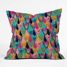Vy La Love Birds 1 Throw Pillow