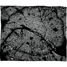 CityFabric Inc Paris Polyester Fleece Throw Blanket