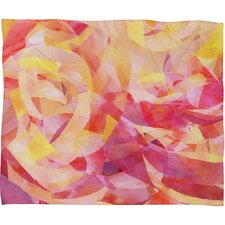 Jacqueline Maldonado Concentric Polyester Fleece Throw Blanket