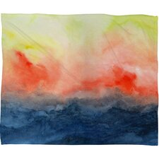 Jacqueline Maldonado Brushfire Polyester Fleece Throw Blanket