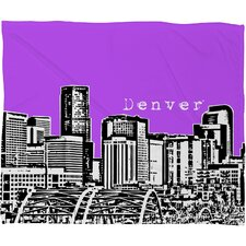 Bird Ave Denver Polyester Fleece Throw Blanket