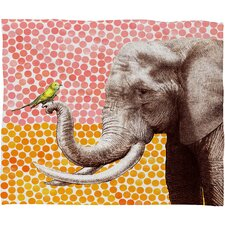 Garima Dhawan Polyester Fleece Throw Blanket