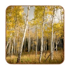 Bird Wanna Whistle Golden Aspen Wall Art
