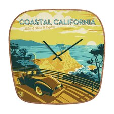 Anderson Design Group Coastal California Clock