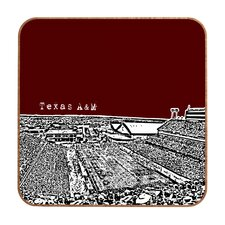 Bird Ave Texas A and M Maroon Wall Art