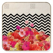 Bianca Green Chevron Flora 2 BlingBox Face