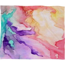 Rosie Brown Color My World Polyesterr Fleece Throw Blanket