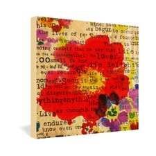 Irena Orlov Poppy Poetry 2 Gallery Wrapped Canvas