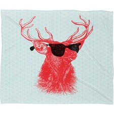 Nick Nelson Young Buck Polyesterrr Fleece Throw Blanket