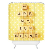 Happee Monkee You Are My Sunshine Polyesterrr Shower Curtain