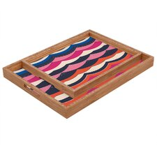 Vy La Unwavering Love Rectangular Tray