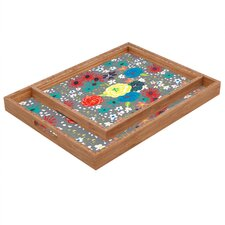 Vy La Bloomimg Love Rectangular Tray