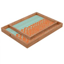 Budi Kwan The Infinite Tidal Rectangular Tray