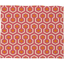 Caroline Okun Zest Polyesterrr Fleece Throw Blanket