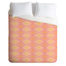 Cori Dantini Orange Ikat 4 Duvet Cover Collection