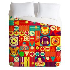 Chobopop Elecro Circus Duvet Cover Collection