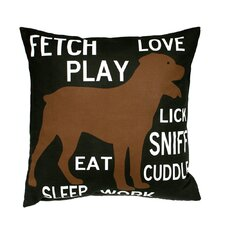 Fetch Play Love Pillow