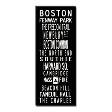 Boston Sign Art