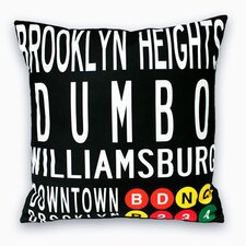 Downtown Brooklyn Pillow