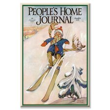 People's Home Journal: January 1926 Canvas Wall Art