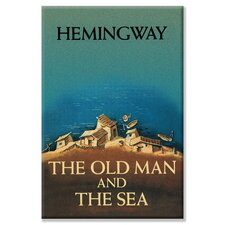 The Old Man and the Sea by Ernest Hemingway Canvas Wall Art