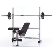 Wide Combo Bench with Leg Developer