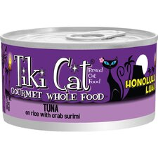 Honolulu Luau Tuna on Rice with Crab Surimi Cat Food