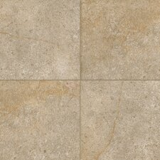 "Italian Stone 4"" x 4"" Glazed Porcelain Field Tile in Verde"