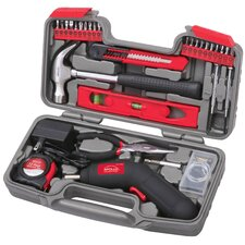 69 Piece Household Tool Kit with 4.8V Cordless Screwdriver