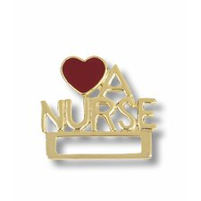 Love a Nurse Cloisonne Badge Tac