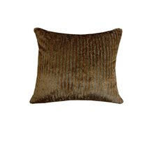 Nutmeg Leaf Real Horn Toggle Buttons Pillow