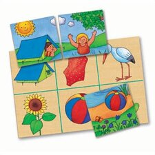 Four Seasons Lotto Memory Game