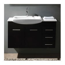 "Kasha 38.75"" Single Bathroom Vanity Set"