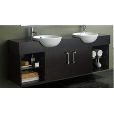 "Carissa 67"" Double Sink Vanity Set"