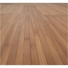 "Flexiboo Tiles Magic Bond 6-1/2"" Bamboo Flooring in Caramel"