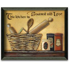 Seasoned with Love Art Print Wall Art