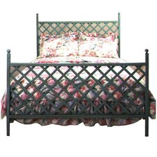 Lattice Wrought Iron Headboard