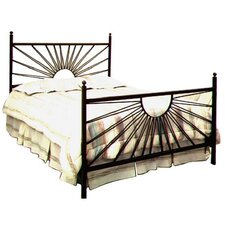 El Sol Wrought Iron Bed