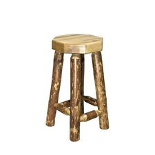 Glacier Country Backless Barstool