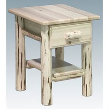 Montana with 1 Drawer Nightstand