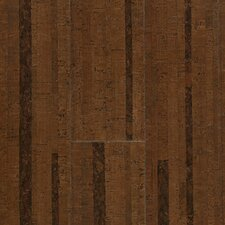 "Corkcomfort 5-1/2"" Engineered Cork Flooring  in Chestnut"