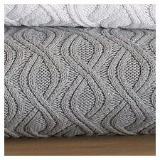 Marbella Wavy Cable Cotton Throw