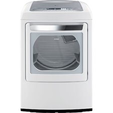 7.3 Cu. Ft. Ultra Large Capacity Front Control Gas SteamDryer with Sensor Dry